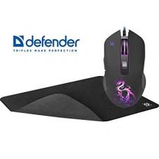 DEFENDER Sky Dragon GM-090L + игровой коврик (ткань+резина)